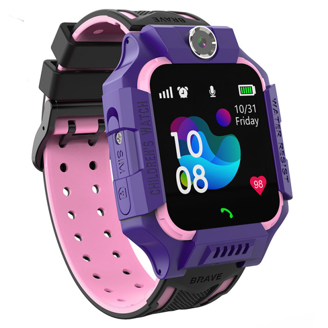 S19 Waterproof Smart Watch for Kids LBS Tracker SmartWatch SOS Call for Children Anti Lost Monitor Baby Wristwatch for Boy girls 5