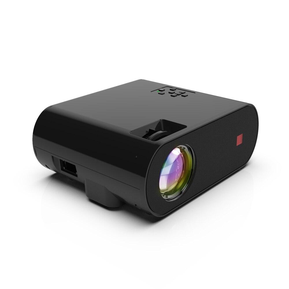 Y8 double chambres de son projecteur de petite taille Wifi Portable lumière LED USB AV HD VGA Port Projetor pour Home cinéma de bureau - 3