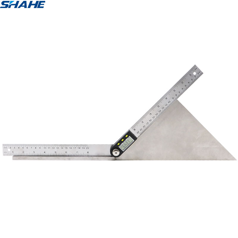200mm Digital Protractor Inclinometer Electronic Angle Gauge Stainless Steel Angle Ruler Goniometer Electronic Protractor