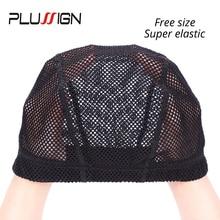 Weaving-Cap U-Part Making-Wigs Plussign-Net Swiss Lace Lace-Front Cap-Materials