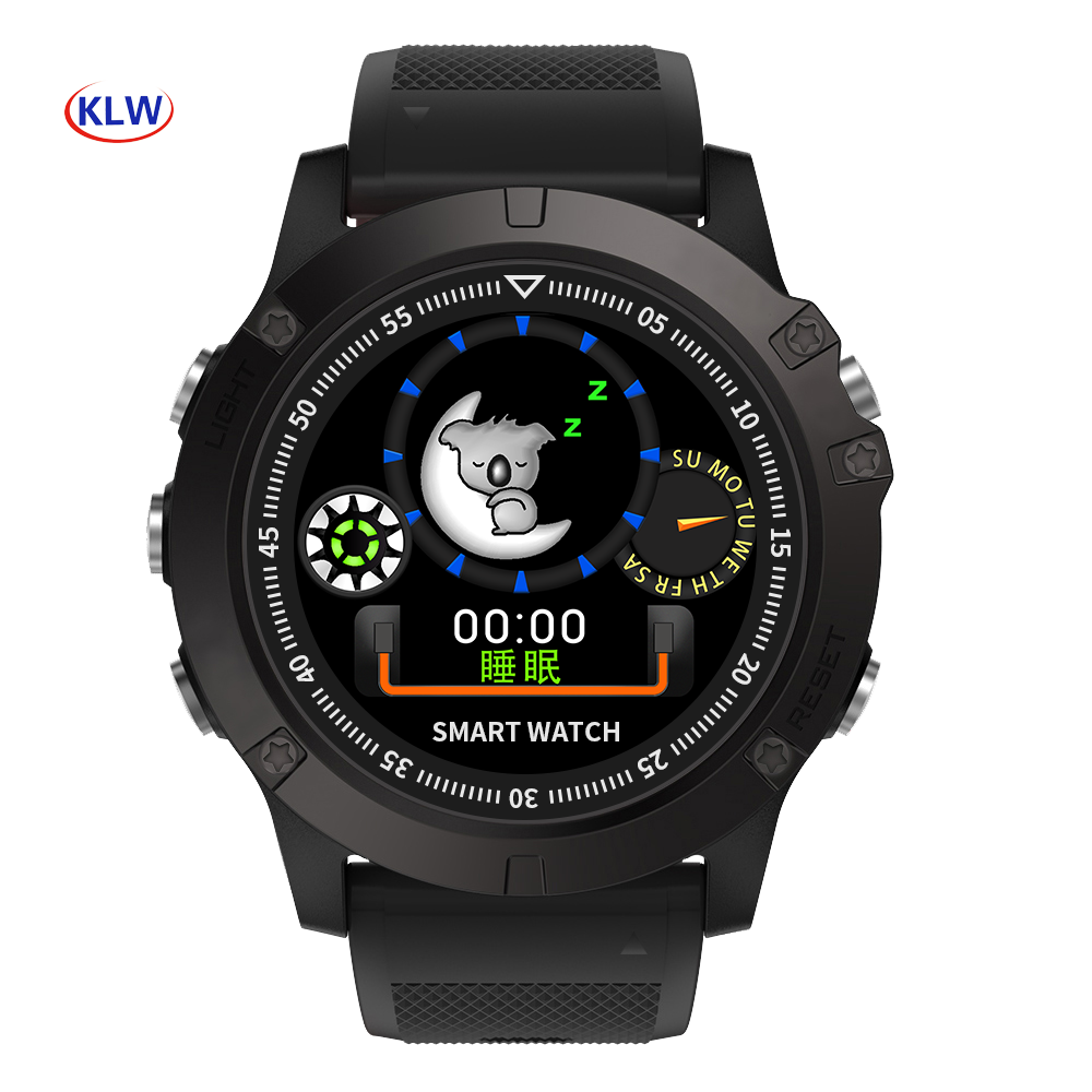 IP67 waterproof dual cpus Smart watch SW002 smart step counter Android Bluetooth IOS long standby sports watch image