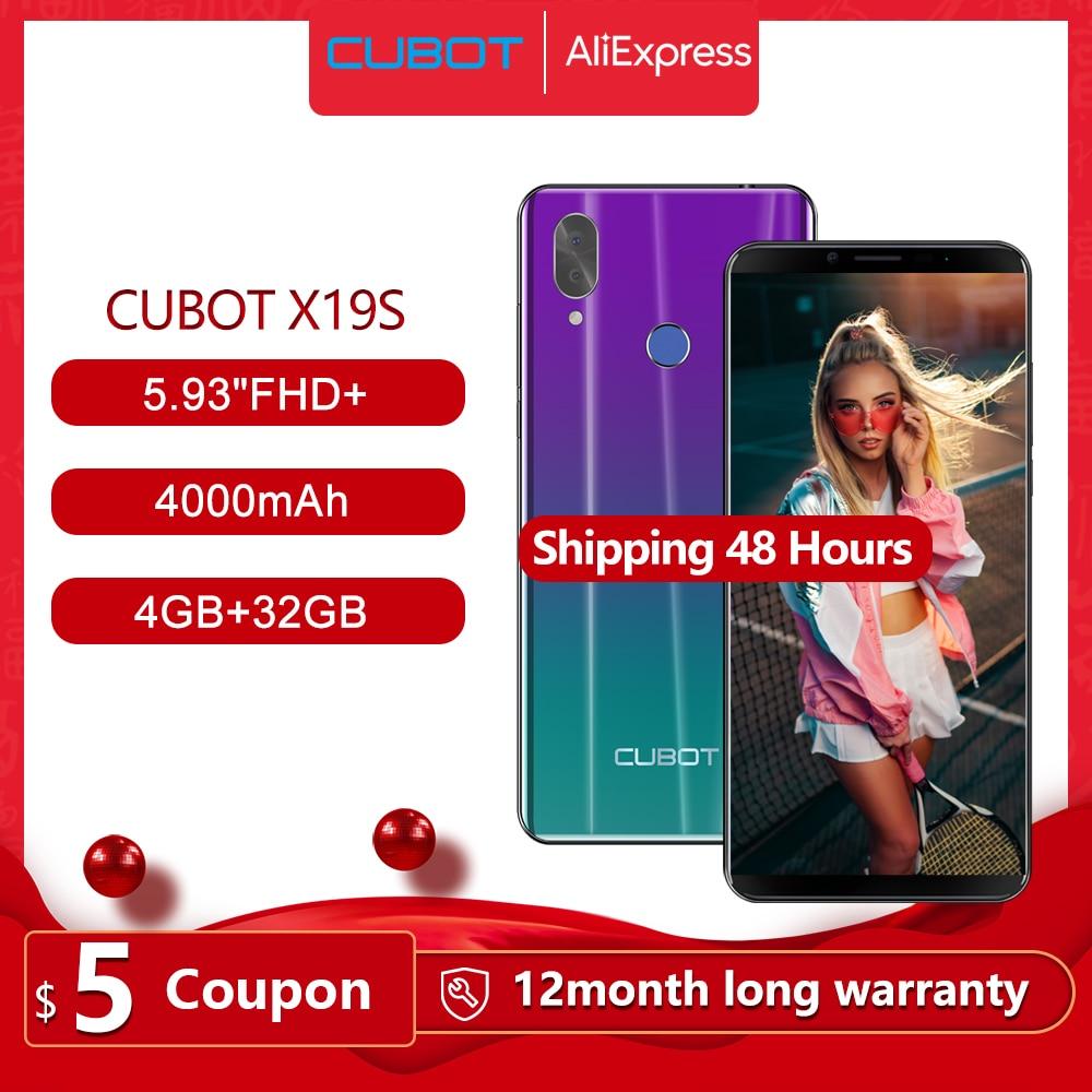 Cubot X19 S Smartphone Helio P23 Octa-Core Dual Camera 16MP 5.93