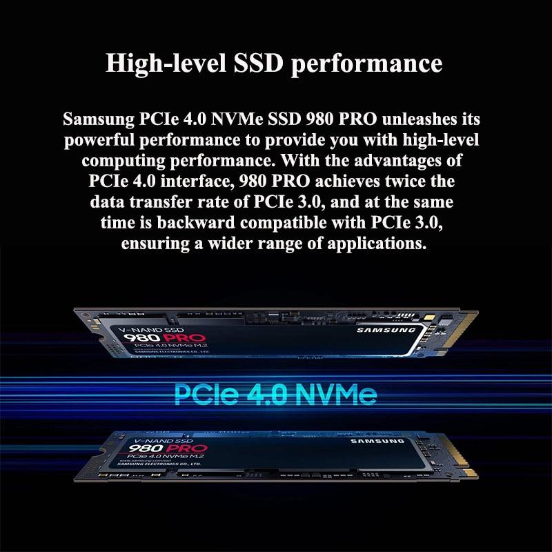 SAMSUNG SSD 980 PRO M 2 250GB 500GB 1TB 980 PRO M2 Internal Solid State Disk