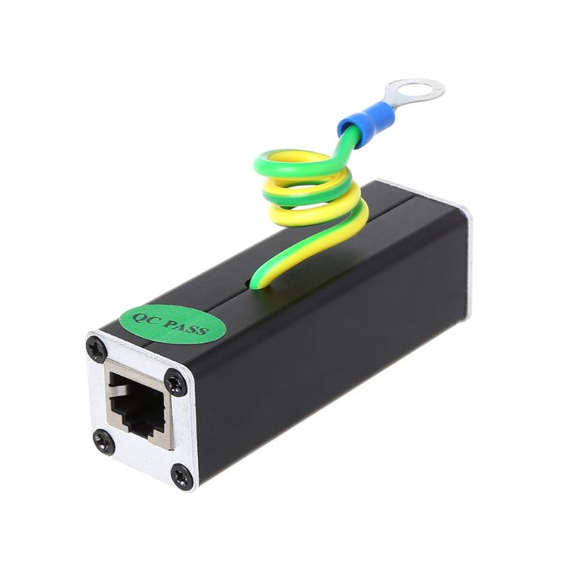 Network RJ45 Monitoring Equipment Camera Lightning Protector Surge Protector Protection Device Lightning Arrester