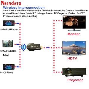 Image 2 - Anycast m2 ezcast Miracast Jede Cast Wireless für DLNA AirPlay Mirroring HD TV Stick Wifi Display Dongle Empfänger für IOS android