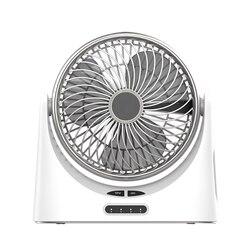 Gorący wentylator usb na biurko mały osobisty wentylator cyrkulacyjny powietrza przenośne elektryczne stół do komputera wentylator akumulator wentylatory podróżne na kemping Offi w Wentylatory od AGD na