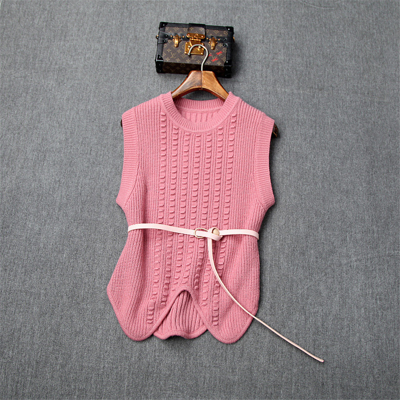 New Fashion Fall Winter Dresses for Women 2019 Designers Irregular Knitted Top+Flare Sleeve Aline Lace Party Dresses 2piece Sets 52