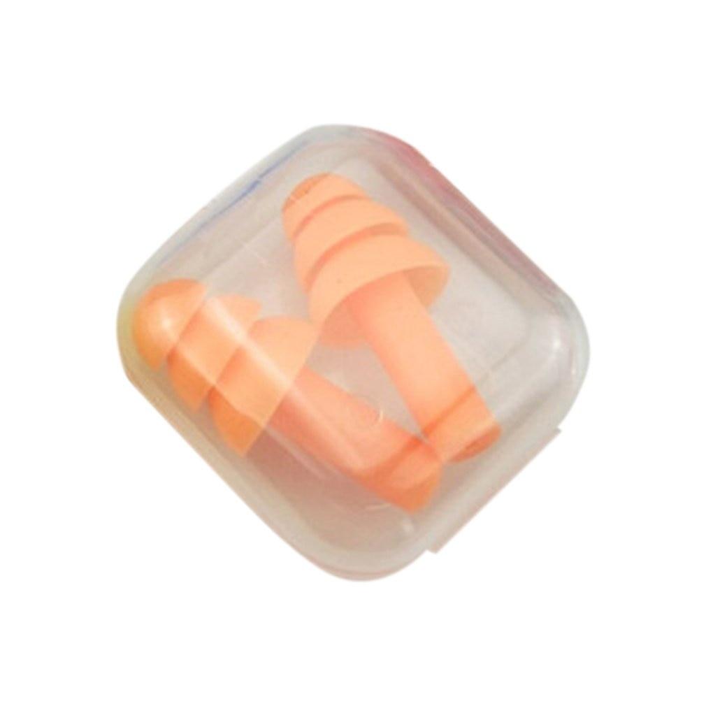 Беруши из мягкого пенопласта и силикона, звукоизоляция, защита ушей, беруши, противошумные беруши для сна с футляром для хранения