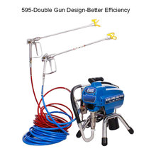 цена на Electric High Pressure Airless Paint Spraying Machine Paint Sprayer Gun Tool for  Wall paint Latex Paint And Decorating DIY
