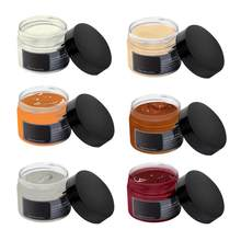 Color Paste Shoe Cream Leather Polish Coloring Agent Leather Stain Wax Shoe Polish For Bag Shoes Sofa Furniture(China)