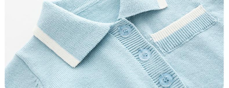 Image 5 - 2020 Newborn baby boy Knitted rompers Baby Clothes Infant Boy Overall Children Outfit Autumn Knitted Baby girls Casual clothingRompers   -