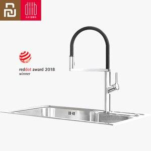 Image 1 - Youpin Dabai U Yue Küche Intelligente Sensor Schalter Wasserhahn 300 Rotierenden Arm Universal Rohr Wasser Küche Stensils