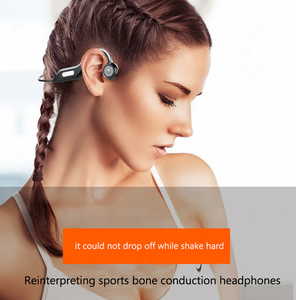 Image 2 - エージェント bulit イン 8 ギガバイトメモリカード骨伝導ヘッドセットの Bluetooth 5.0 ワイヤレスヘッドフォンスポーツ防水 bluetooth ワイヤレスイヤホン