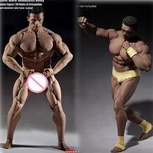 PL2016 M34 PL2018 M35 TBLeague 1/6 ölçekli erkek süper güçlü dikişsiz paslanmaz çelik vücut kaslı şekilli kalıp Arnold kafa