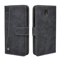 Luxe Wallet Case Voor Samsung Galaxy J1 J2 J3 J4 J5 J6 J7 J8 Plus 2018 2017 2016 Case Vintage flip Lederen Siliconen Cover