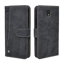 Luksusowy portfel etui do Samsung Galaxy J1 J2 J3 J4 J5 J6 J7 J8 Plus 2018 2017 2016 przypadku rocznika klapki skóra silikonowa okładka
