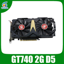VEINEDA Original GT740 GPU Video Card 2G GDDR5 128Bit Graphics VGA Game Card 993/5000MHz for nVIDIA Geforce Games
