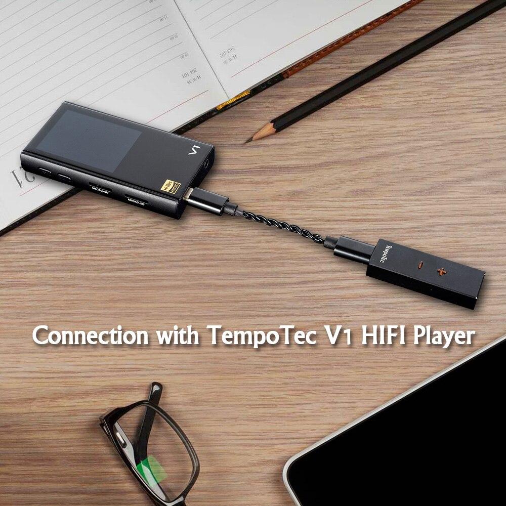 TempoTec (sonate hd pro pour Android/PC) amplificateur casque HiFi décodage USB type C à 3.5mm adaptateur DAC sortie Audio Portable - 5