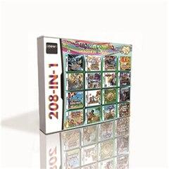 Cartucho de juego 208 en 1 para DS 2DS 3DS, consola de juegos con Pokemoned, negro, blanco, dorado, corazón, plata, platino, Perla de diamante