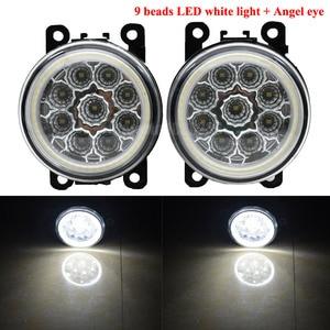 Image 4 - 1pair Car Fog Light Angel eye Daytime Running Light 12V For Opel Corsa D Hatchback 2007 2008 2009 2010 2011 2012 2013 2014 2015