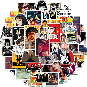 10/30/50pcs/pack Pulp Fiction Classic Movie Stickers For Refrigerator Car Helmet DIY Gift box Bicycle Guitar Notebook Skate Etc - discount item  25% OFF Classic Toys