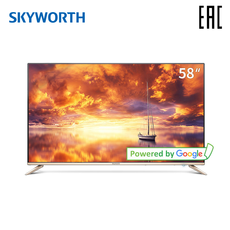 Tv 58 skyskyskyworth 58g2a 4 k ai tv android 8.0