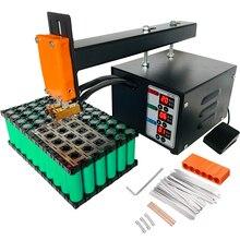 Точечный сварочный аппарат высокой мощности 3 кВт для литиевой батареи 18650, высокоточный сварочный аппарат, точечная Импульсная Сварка, 110 В, 220 В, JST-IIS сварочный аппарат