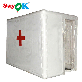 PVC Inflatable Disinfection Tunnel with Sprayer Sterilisation Channel Inflatable Medical Tent for Hospital/Dental Clinic//Hotel