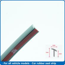 Szary T typ samochodowa gumowa uszczelka do drzwi taśma uszczelniająca do gumowa uszczelka samochodowa skośny przedni zderzak Auto gumowa uszczelka do drzwi uszczelka krawędziowa tanie tanio FDIK CN (pochodzenie) 2inch Rubber Wypełniacze Kleje i uszczelniacze 0 06kg seal ruuber 1inch FD-XIET 1m 2m 3m 4m 5m 6m 8m