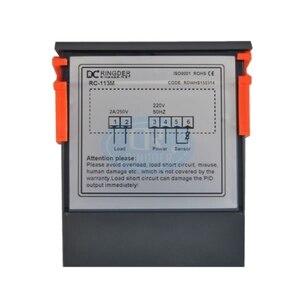 Image 2 - Ringder RC 113M 220v50hz 0.1c pid calor brotando regulador de incubação termostato digital controlador temperatura para laboratório incubadora