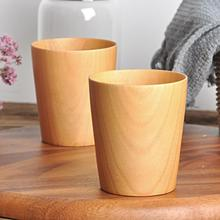 275ml Wooden Cup Handmade Coffee Tea Beer Wine Juice Milk Water Mug Holiday Gift Lightweight Mugs
