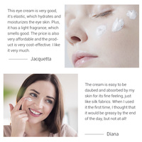 Breylee Vitamin C Eye Cream Whitening Dark Circle Eyebag Removal Brighten Skin Ageless Vc Eyes Serum Anti-Wrinkles Eye Care 20g 3