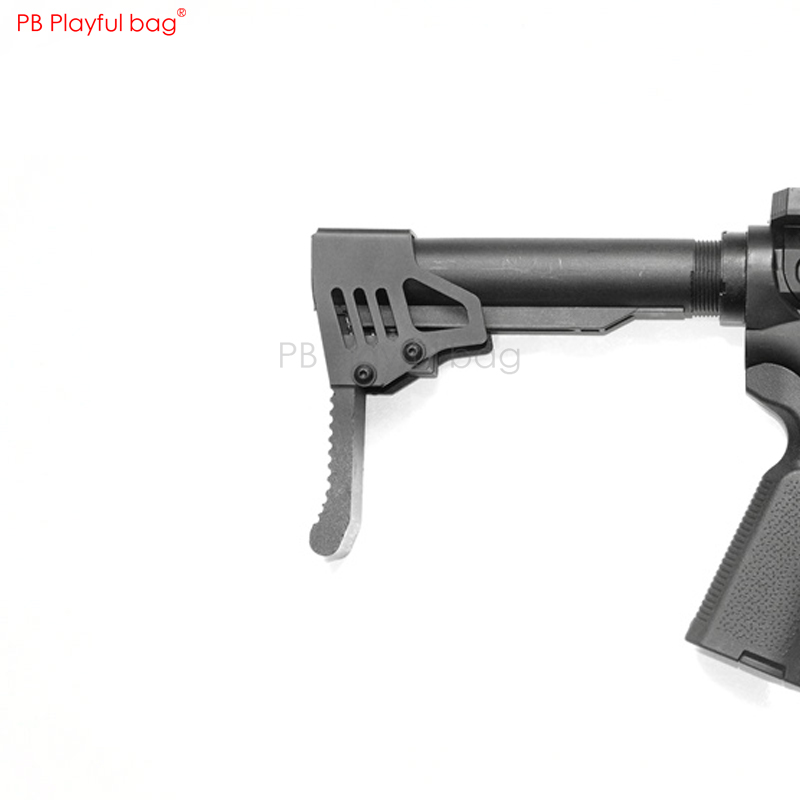 Playful Bag Tactical Short Protrusion Support PDW LBS LOP Competive 556 Water Bullet Gun Accessories KD65