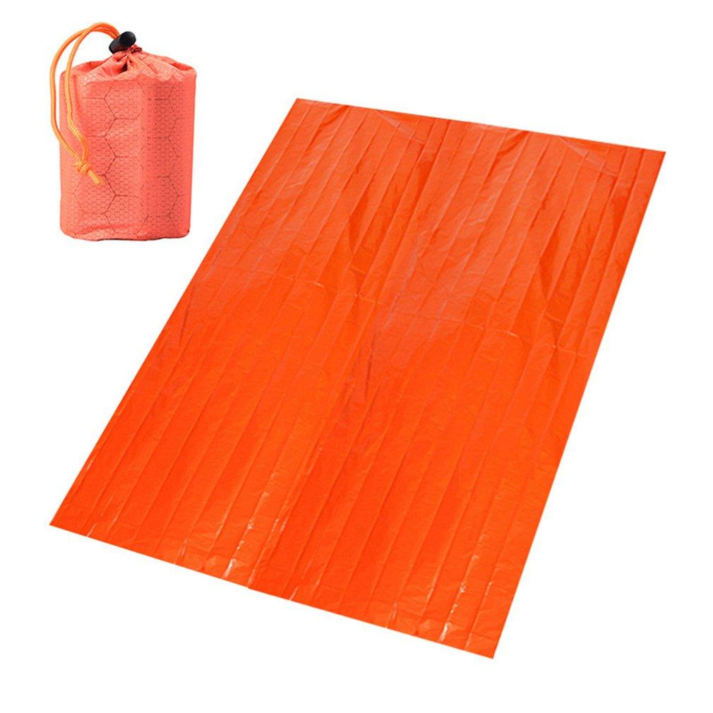 Portable Aluminum Film Emergency Blanket Wilderness Survival Survival Blanket Thermal Insulation Blanket