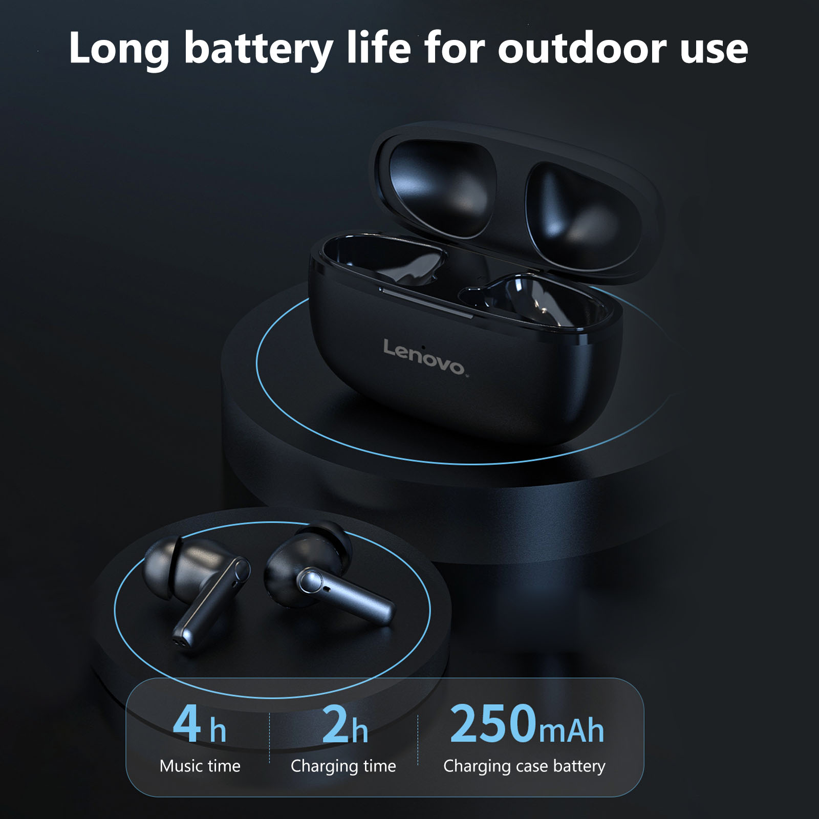 Lenovo HT05 TWS Bluetooth 5.0 Earbuds 7