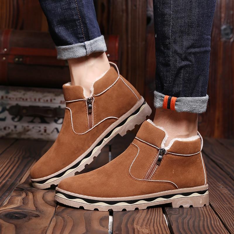 Merkmak 2019 New Winter Men Shoes