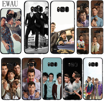 EWAU Jonas Brothers Silicone phone case for Samsung S6 S7 Edge S8 S9 S10 Note 8 9 10 plus S10e M10 M20 M30 M40 image
