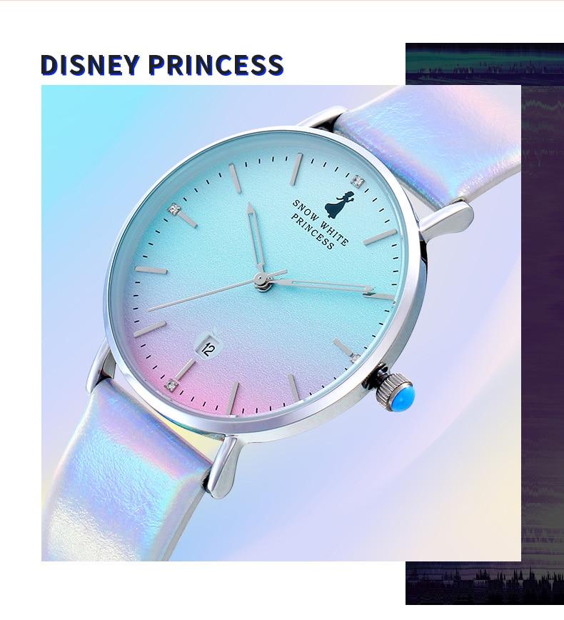 Disney Watch Girl Korean Simple Temperament Waterproof Mori College Style Gradient Girl Student Watches