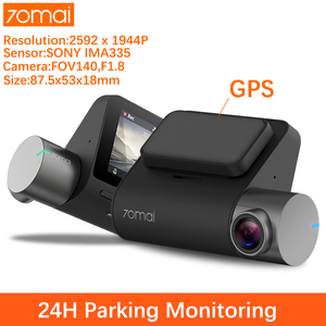 Image 1 - Xiaomi 70mai Pro Dash Cam 1944P rejestrator jazdy GPS ADAS Car Dvr 70 mai Pro kamera samochodowa Dashcam sterowanie głosem car camera 24H monitor do parkowania wideorejestrator WIFI rejestrator samochodowy