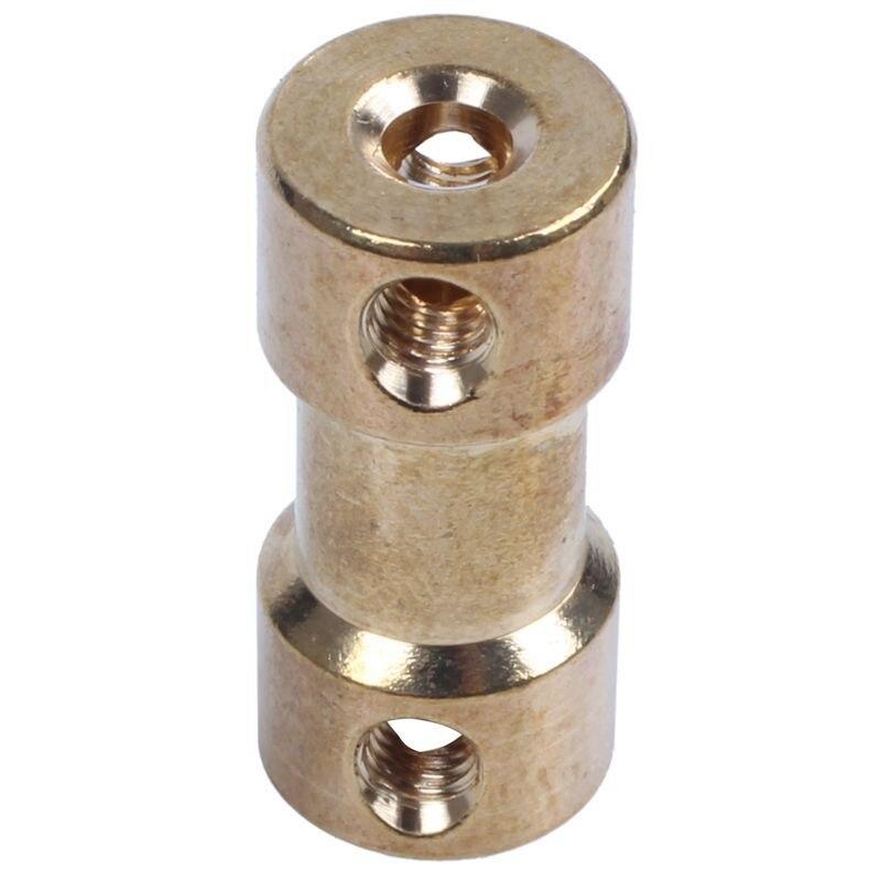 3 мм x 4 мм двигатель для радиоуправляемых моделей вал латунный Соединительный соединитель Адаптер шаровой шарнир