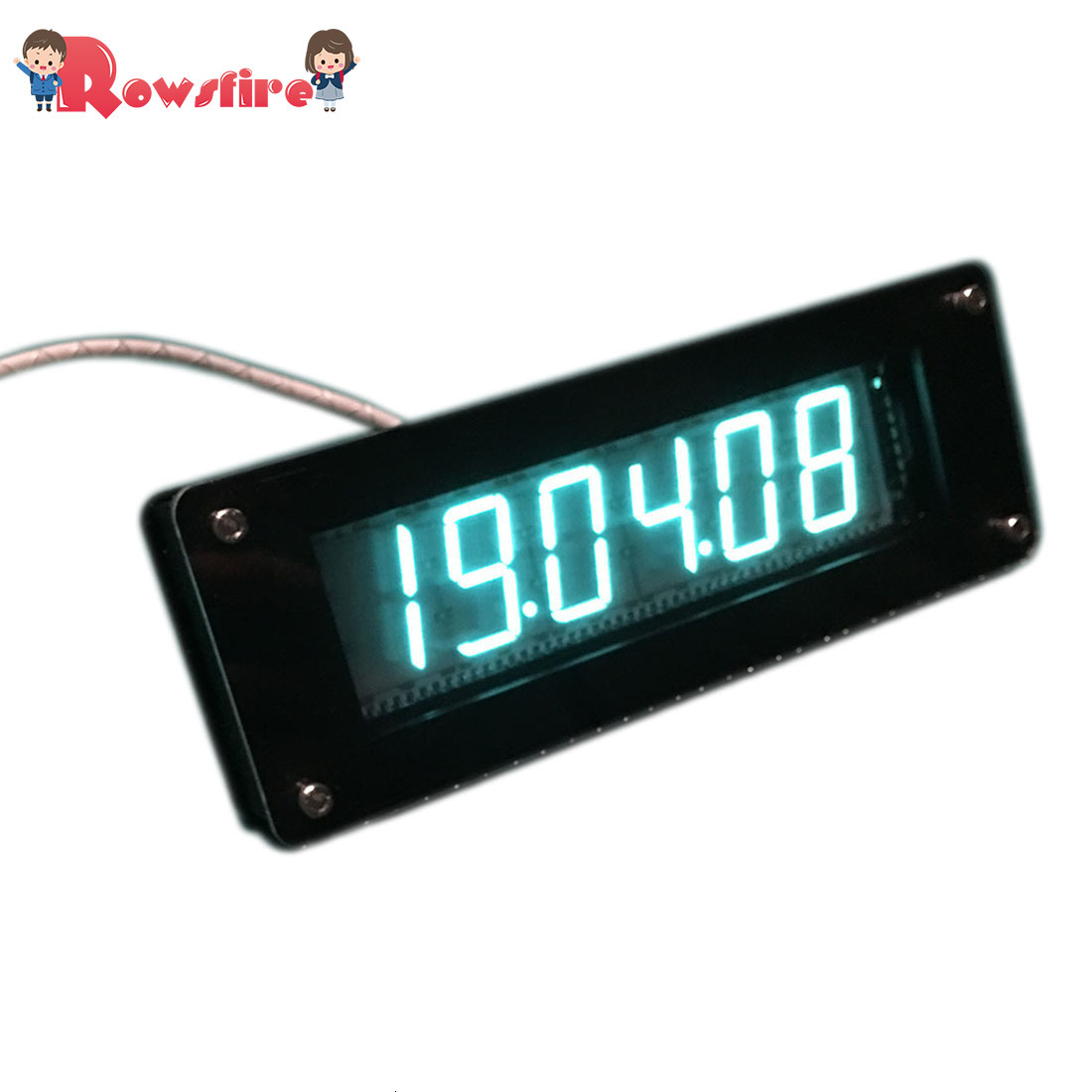 GPS Time Calibration Retro Electronic Clock DIY Fluorescent Tube Clock VFD Clock