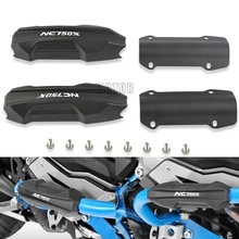 For Honda NC750X NC750 X/S NC 750 X 2018-2019 25mm Motorcycle Engine Guard Bumper Protection Decorative Block Crash Bar