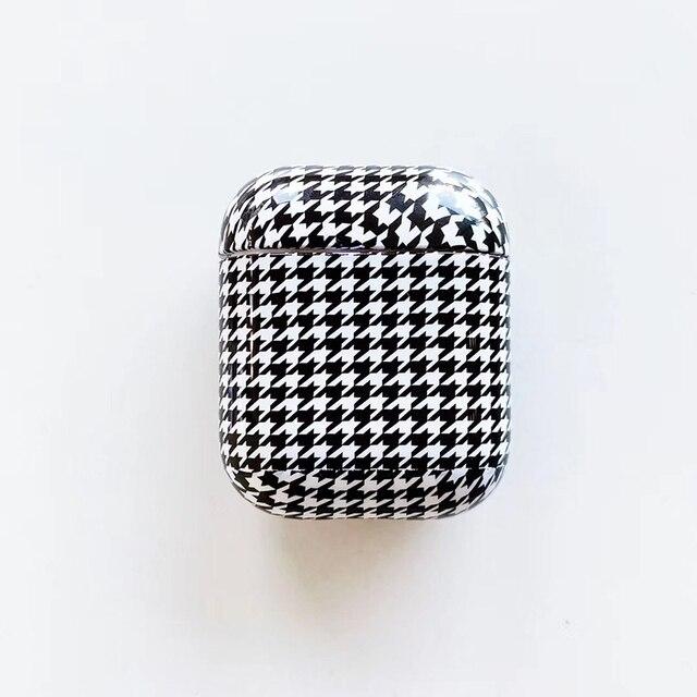 Фото роскошный брендовый жесткий пк беспроводной чехол для зарядки цена
