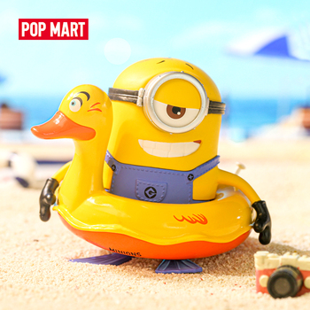 POP MART Minions Holiday Blind Box 1 Piece Despicable Me Action Kawaii Figure Gift Kid Toy printio гадкий я despicable me