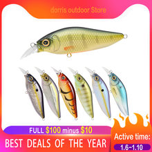 Fishing Lure 2019 minnow 10cm/12g flaoting hard bait isca artificial pike seabass M005(China)