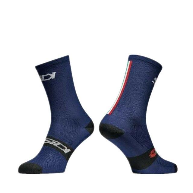 Nova edição da equipe de esportes ao ar livre bicicleta corrida sidi ciclismo meias de compressão 3