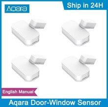 Aqara Door Window Sensor Zigbee Wireless Connection Smart Mini Door Sensor Work With Gateway For Apple Homekit Xiaomi Mijia APP
