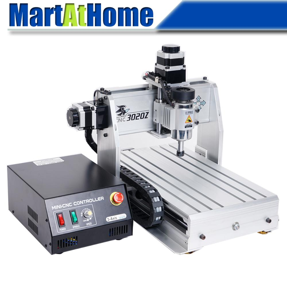 ARGEDO 3 Axis 3020Z <font><b>3020</b></font> <font><b>CNC</b></font> <font><b>Router</b></font> Engraver/Engraving Drilling and Milling Machine Mach3 USB/Parallel Port image