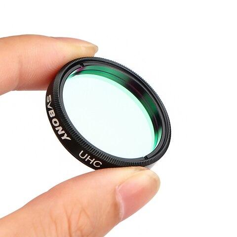 svbony 125 uhc filtro ultra alto contraste