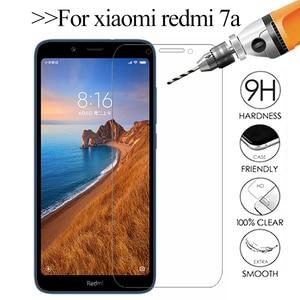 9H HD Protective Glass For xiaomi redmi 7a redmi7a screen protector xiomi redmi 7a 7 a a7 safety tempered Glass Protection Film